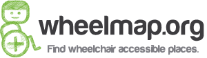 Wheelmap Logo - find wheelchair accessible places